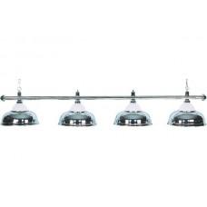 Lamp Crown, silver, 4 Bells